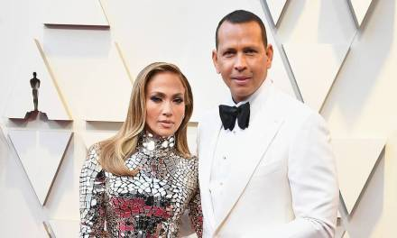 A-Rod Escorted J-Lo to the Academy Awards