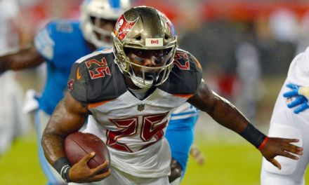 Peyton Barber Has His Team Issued Tablet Stolen