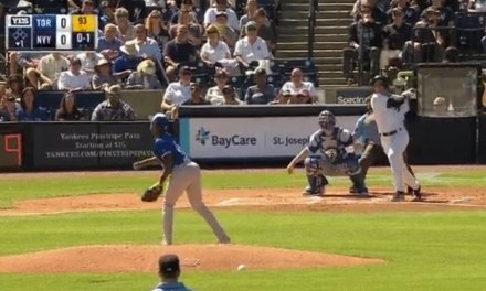 Troy Tulowitzki Hit a Home Run in His First At Bat as a Yankee
