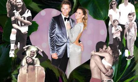 Tom Brady and Gisele Bundchen Exchange 10 Year Anniversary Messages