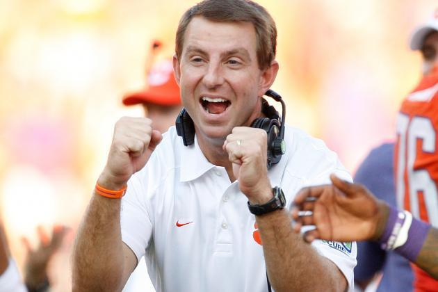 Dabo Swinney Spotted Playing With The Clemson Football Team's Intramural Basketball Squad