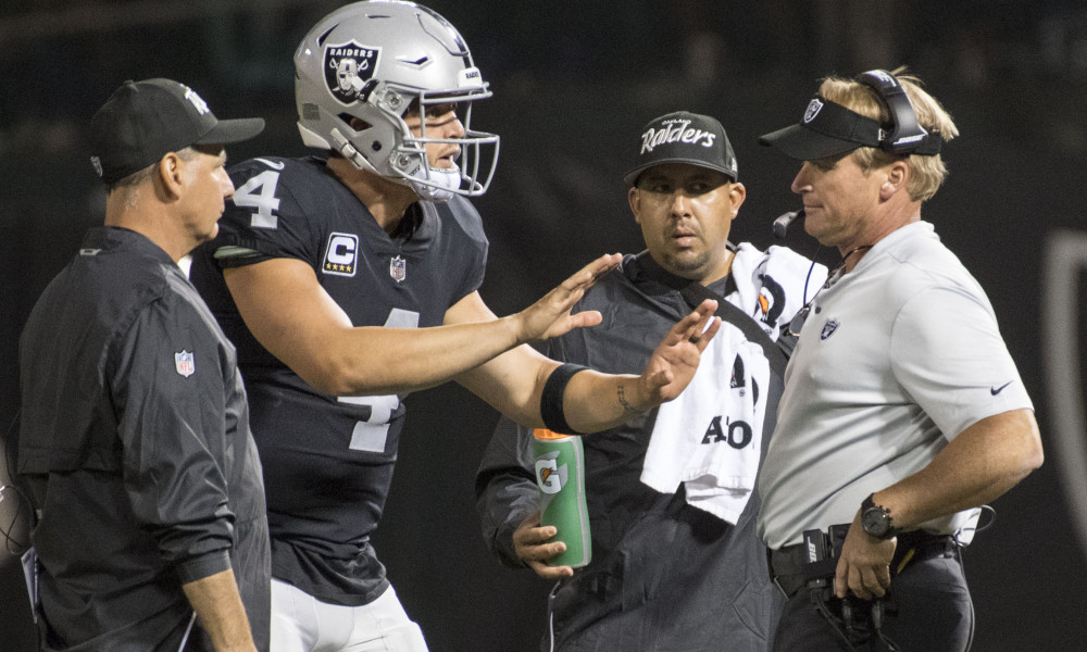Raiders Reportedly Shopping QB Derek Carr at the NFL Combine