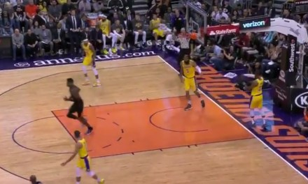 LeBron James Had One of the Worst Turnovers You Will Ever See in Loss to the Suns