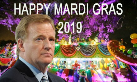 Saints Fans Wreck Refs and Roger Goodell at Mardi Gras Parade