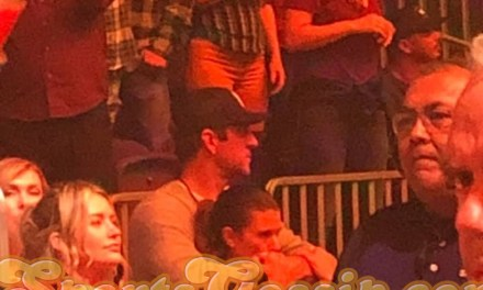 Aaron Rodgers and Danica Patrick Getting Close at Justin Timberlake Concert