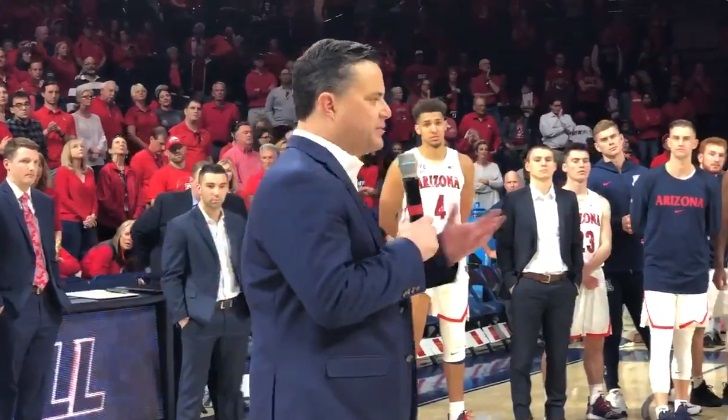 Sean Miller Addressed Fans with Weird Farewell in Arizona Home Finale Amid NCAA and Federal Probes