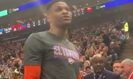 """Russell Westbrook Tells a Jazz Fan that He Will """"F*ck Him and His Wife Up"""""""