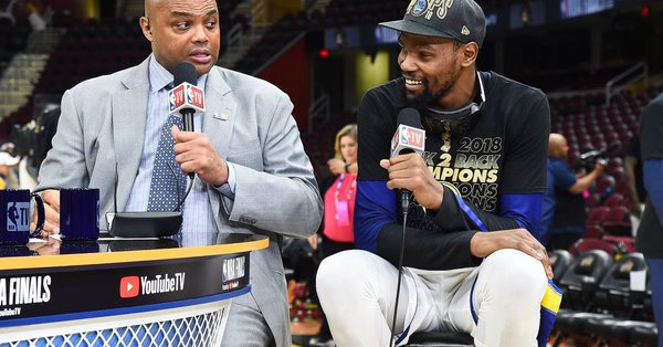 Charles Barkley Takes a Shot at Kevin Durant and Kyrie Irving