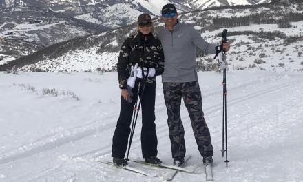 Drew Brees and His Wife Brittany Hit The Slopes In Utah