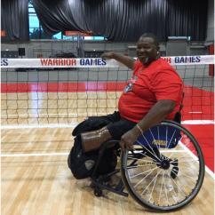 Wheelchair Volleyball La Z Boy Lift Chair Repair Parts Steel Tennis Pole Combo De11 S Sitting Coordinator Usa