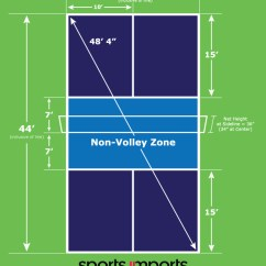 Measurement Of Tennis Court With Diagram Vehicle Audio Wiring Diagrams How To Build An Outdoor Pickleball A Definitive Guide And Dimensions