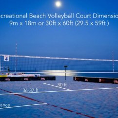 Beach Volleyball Court Diagram Westinghouse Electric Motor Wiring Dimensions
