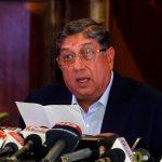 N Srinivasan confirmed as International Cricket Council chairman