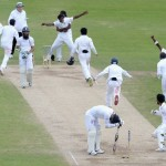 England v Sri Lanka: Tourists win Test series with one ball to spare
