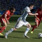 FIFA World Cup 2014 round of 16 Argentina 1-0 Switzerland at Arena Corinthians, Sao Paulo