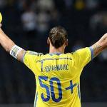 Zlatan Ibrahimovic etches his name in sweden's record book
