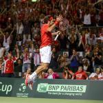 Federer seals first Davis Cup title for Switzerland