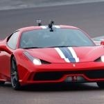 Vettel make his 1st Ferrari test