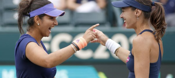 Sania Mirza retained the no.1 spot in women's doubles for two years in a row.