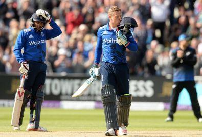 Cricket--England-v-New-Zealand