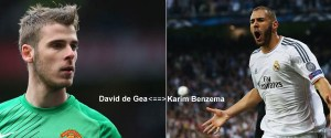 swap deal between Real Madrid and Manchester united