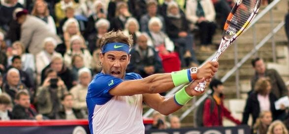 Rafel Nadal at Hamburg Open