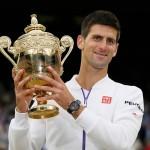 Novak Djokovic held the glory