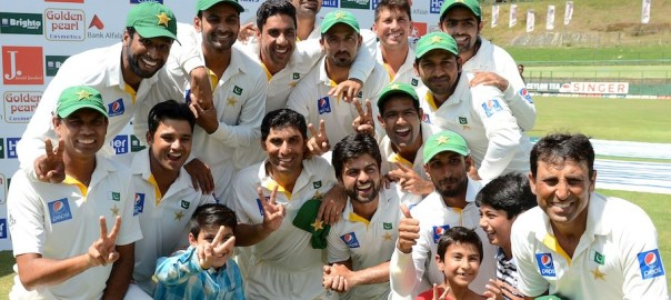 Pakistan is at no. 3 in Tests