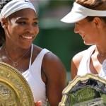 Serena Williams won sixth Wimbledon title
