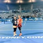 Sania Mirza and Martina Hingis win Sydney International title