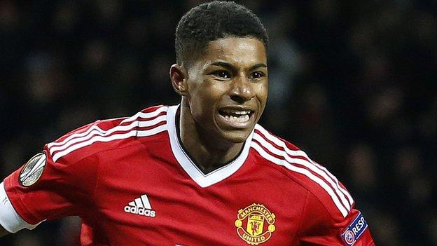Roy Hodgson: Not sure about Marcus Rashford's inclusion in Euro 2016 squad