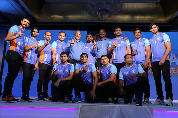 Indian Kabbadi Team