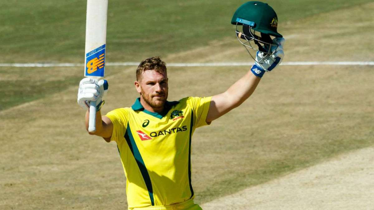 Aaron Finch record 172 runs in T20 against Zimbabwe