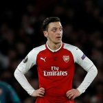 Ozil gets emotional after being axed from Arsenal squad