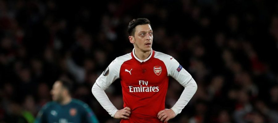 Ozil gets emotional after being axed from Arsenal's squad