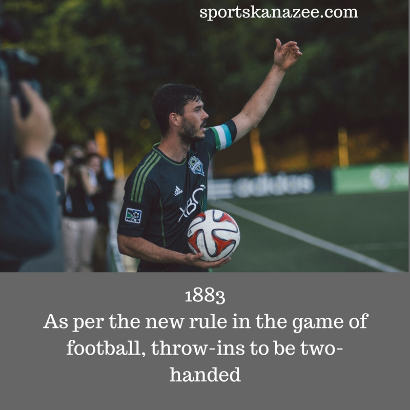 New rule of throw-in