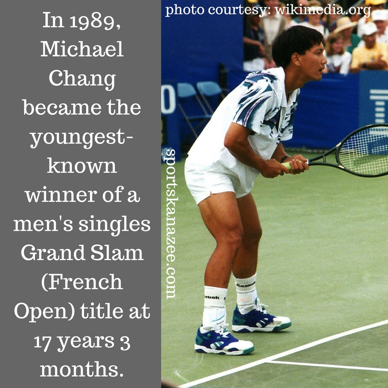 Grand Slam winner at 17