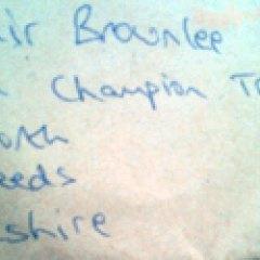 Brit triathlete receives surprise letter