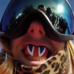 Winter Olympics via head cam