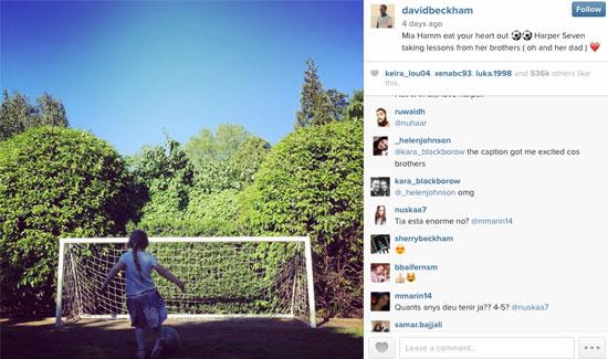 Harper-Beckham-plays