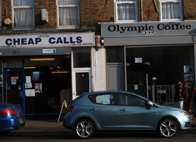 Jo's new local area got into the Olympic spirit...