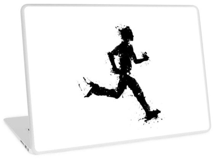 RedBubble-Runner-2-laptop-skin
