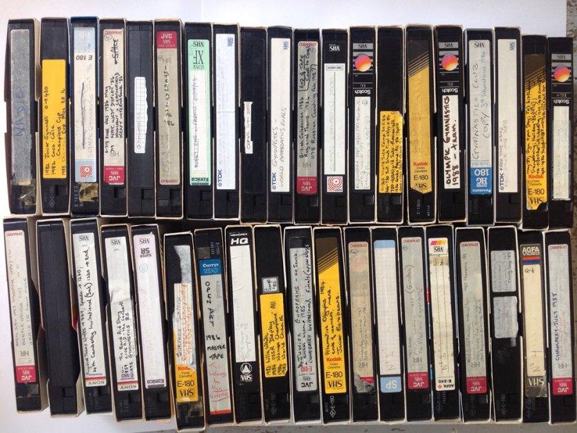1980s gymnastics videos