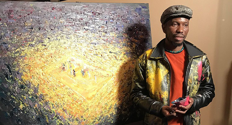 Tafa painting The Game