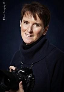 Sports photographer Eileen Langsley