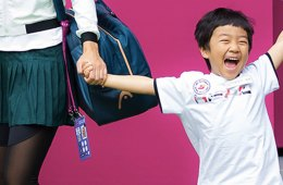 Sport Social: One happy kid & cross-country chic