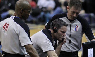NBA referee's