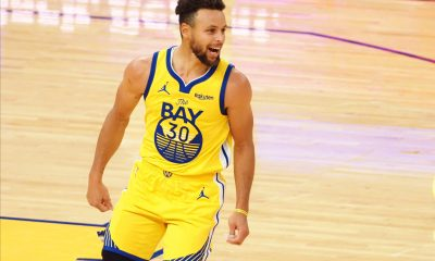 Steph repping gsw