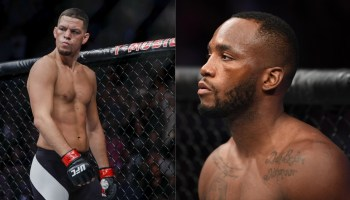 Nate Diaz (Left) and Leon Edwards (Right)