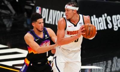 Suns's Booker guarding Gordon